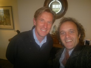 Me and PHILIP REEVE!!!!